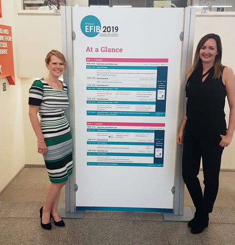 EcoVibe's Stacey and Amy at EFIB 2019