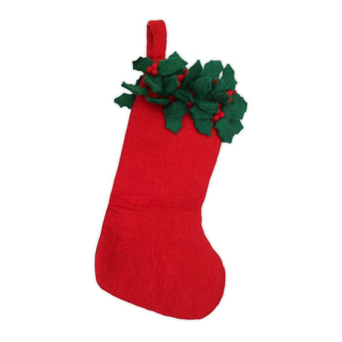 Biodegradable Red Christmas Stocking