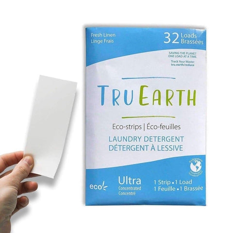 Dissolvable laundry detergent strips