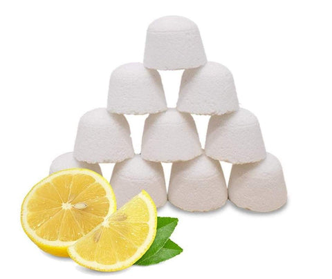 Lemon toilet bombs