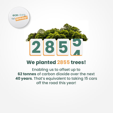 We planted 2854 trees