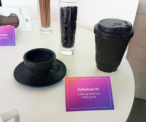 Kaffeform UG: Coffee cup made from coffee grounds