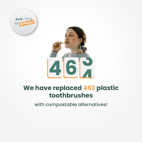 We replaces 463 toothbrushes
