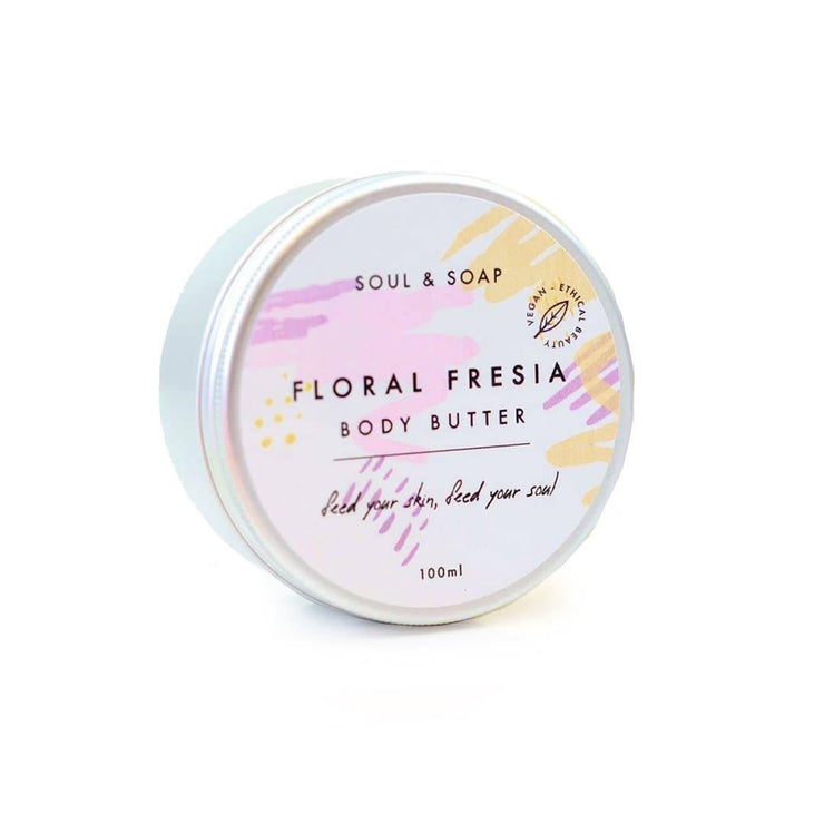 Body Butter - Floral Freesia (100ml)