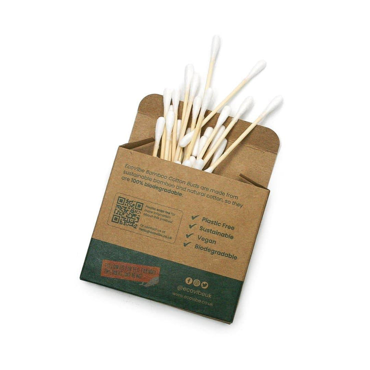 Bamboo & Cotton Buds and packaging