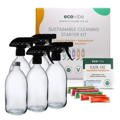 Sustainable Cleaning Starter Kit - EcoVibe