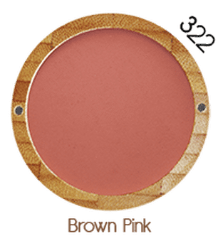 Zao Vegan Blusher (9g) brown pink
