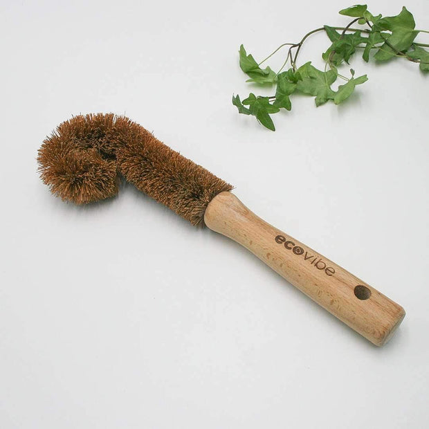 Tumbler & Jam Jar Coconut Fibre Brush