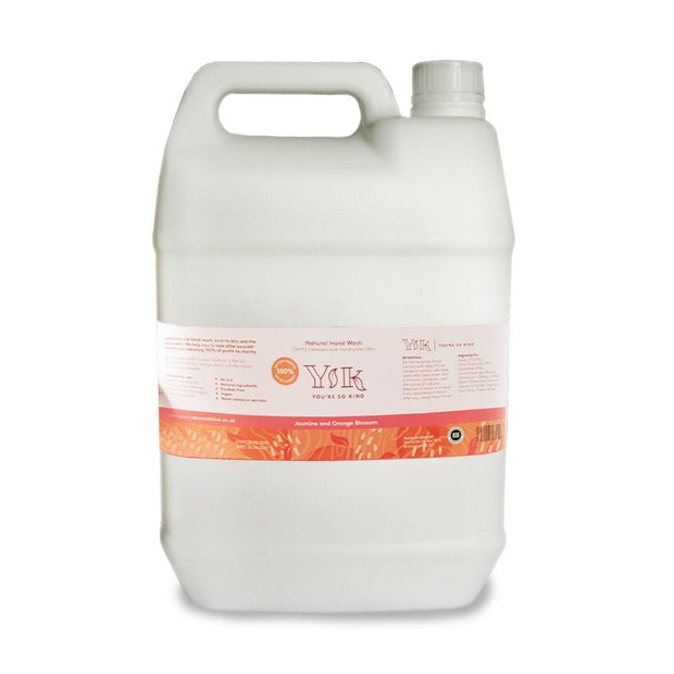 Jasmine and Orange Blossom Hand Wash - 5 litre