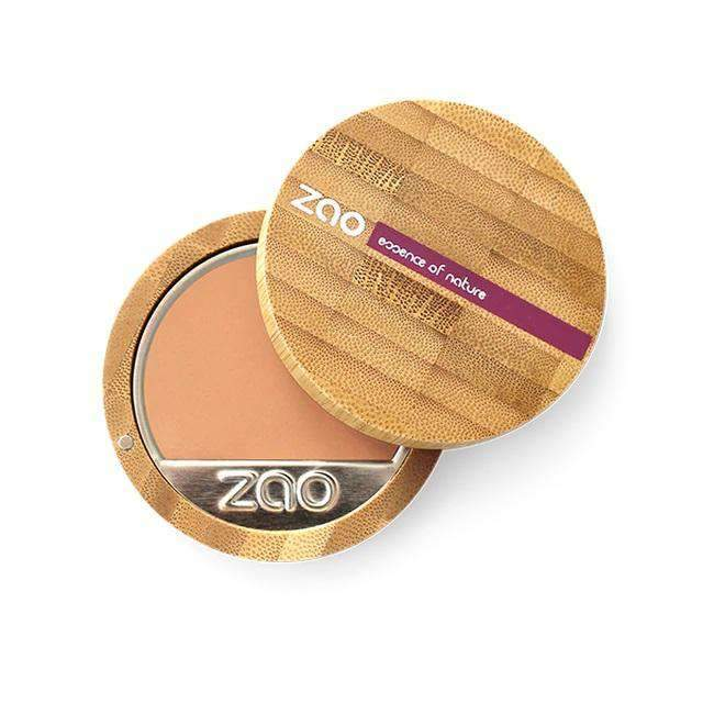 Zao Vegan Compact Foundation (6g) neutral