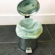 Biodegradable Compostable Bin Liners - Caddy in use