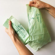Biodegradable Compostable Bin Liners 7 Litres (52 Bags)
