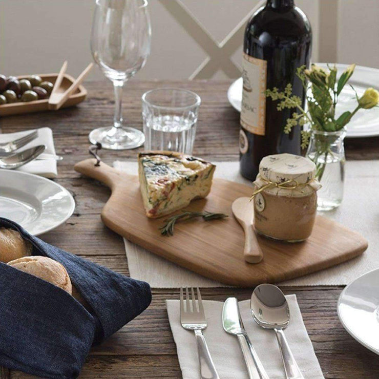 Bambu Artisan Cutting & Serving Board serving suggestion