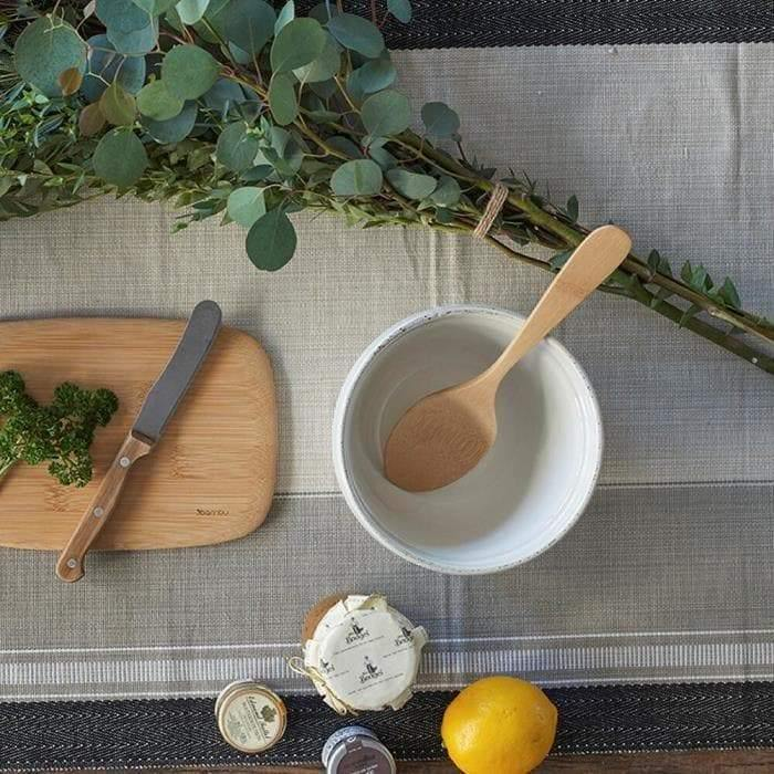 Bamboo Serving Spoon in bowl