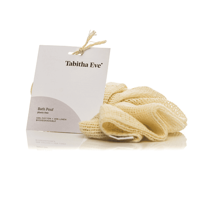 Tabitha Eve Organic Cotton Bath Pouf