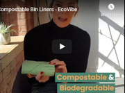 compostable bin bags video