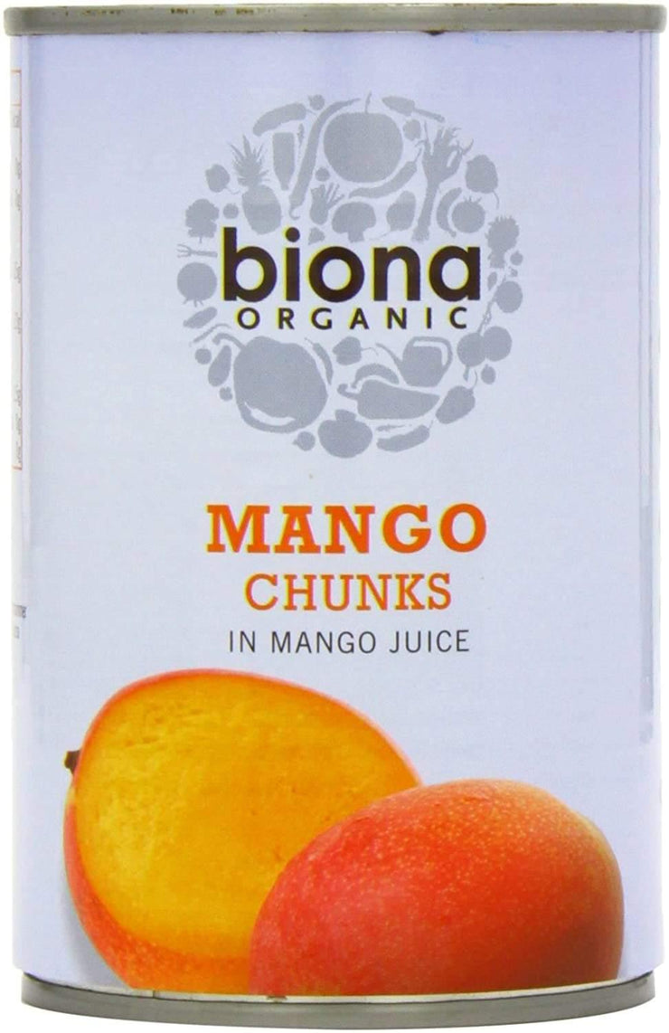 Biona Organic Mango Chunks in Juice