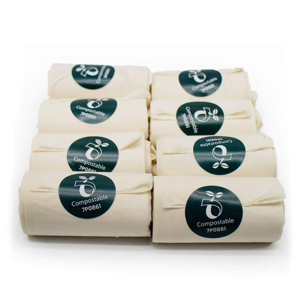 Biodegradable Home Compostable Poop Bags 120 Bags Ecovibe