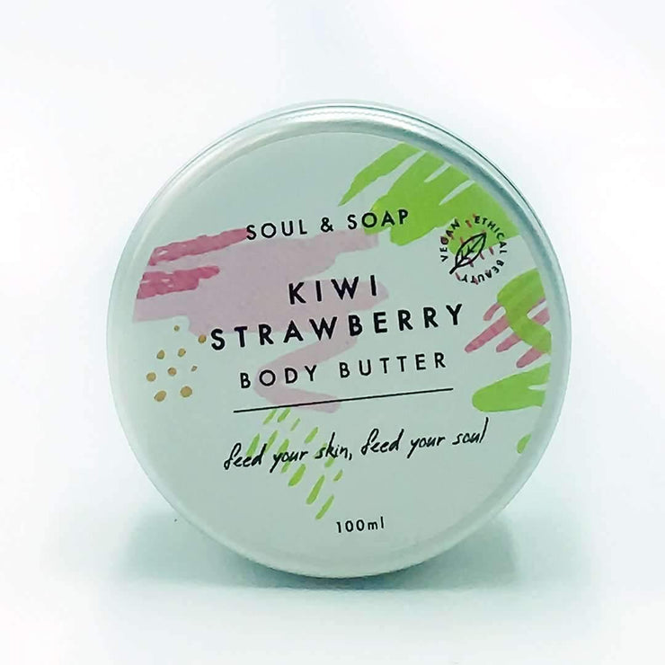 Body Butter - Kiwi & Strawberry (100ml)