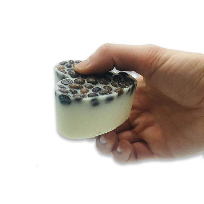 Soul & Soap Massage Lotion Bar - Coffee