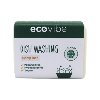 Handmade Dish Washing Soap Bar - 130g - EcoVibe