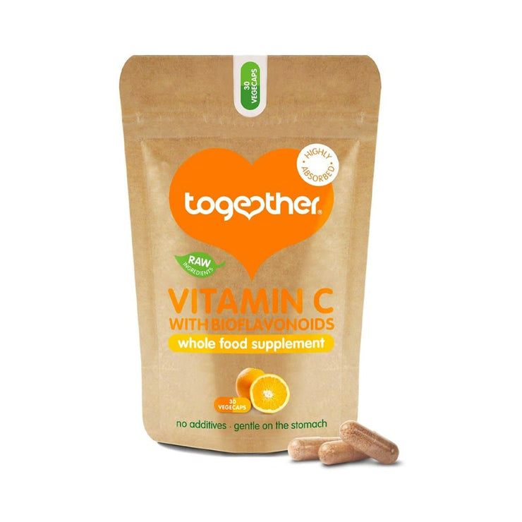 Together Vitamin C with Bioflavinoids, whole food supplement.