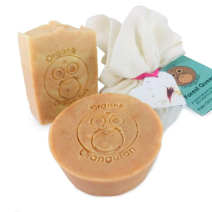 Forest Queen Palm Oil Free Organic Facial Soap