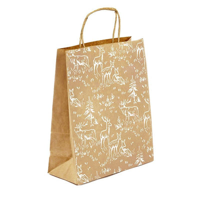 Handprinted Gift Bag - Three sizes - EcoVibe