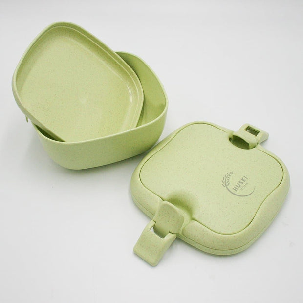 Stylish Rice Husk Lunch Box - Choice of 3 colours