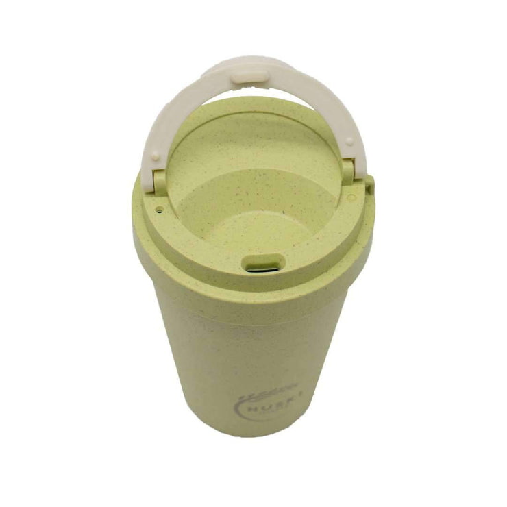 Huski Rice Husk Travel Coffee Cup pistachio