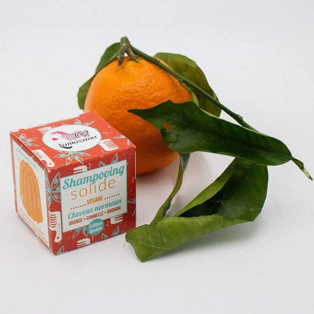Natural Shampoo Bar (Orange, Cinnamon & Star Anise, normal hair)