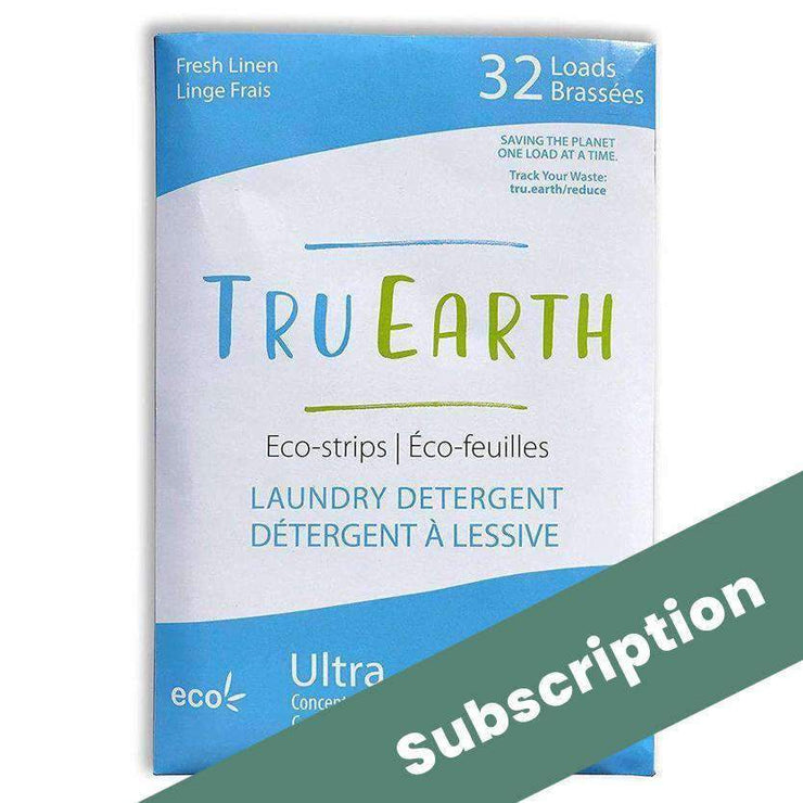 Subscription of Dissolvable Laundry Detergent Strips