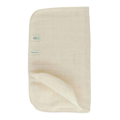 Exfoliating Organic Cotton Muslin Face Cloth