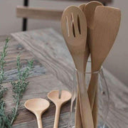 Organic bamboo kitchen utensil set