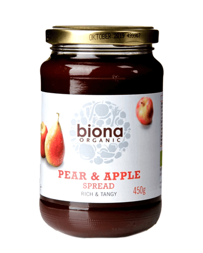 Organic Pear & Apple Spread