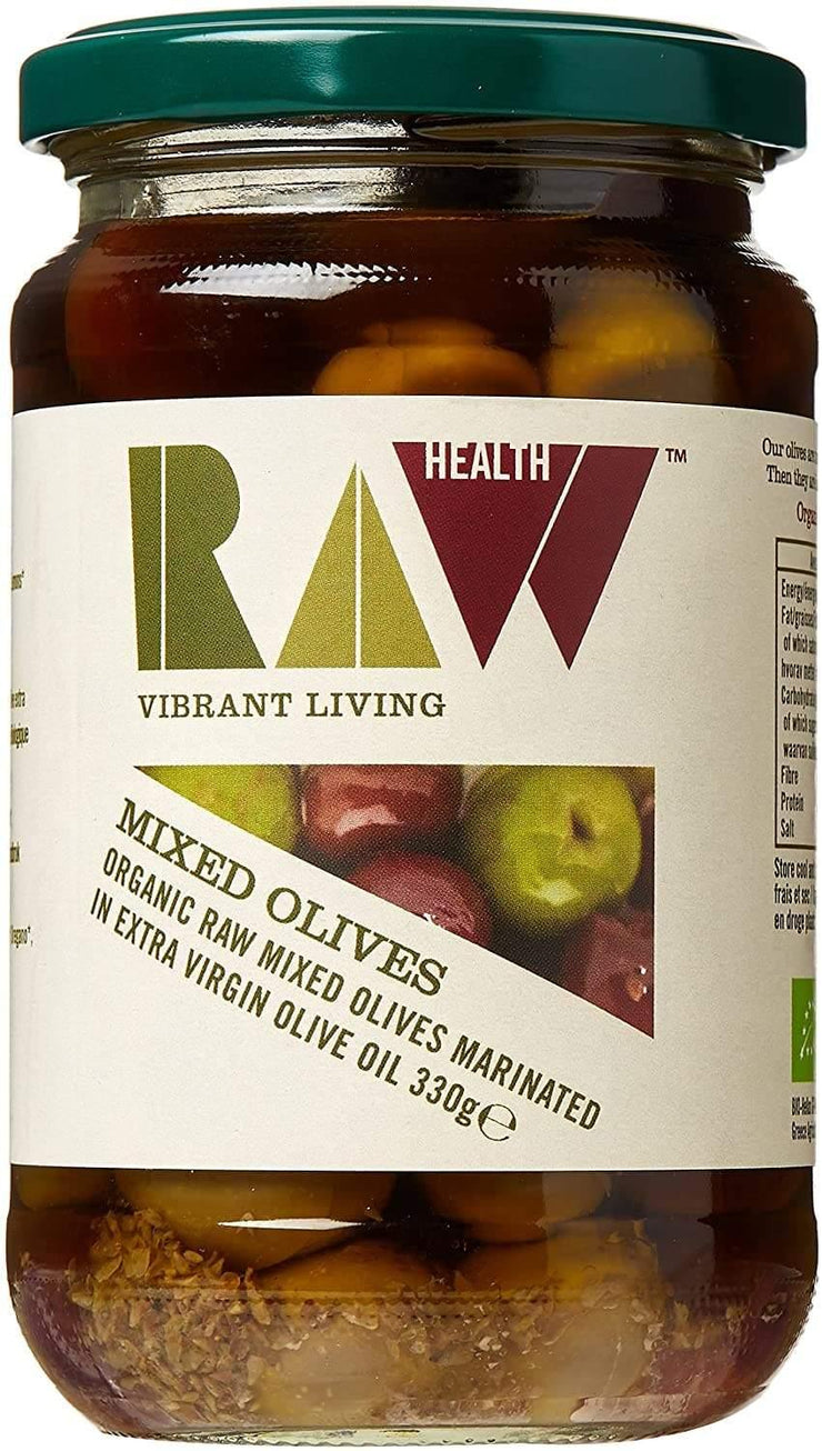 Raw Health Mixed Olives