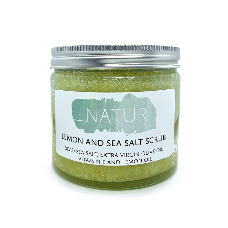 Sea Salt & Lemon Body Scrub