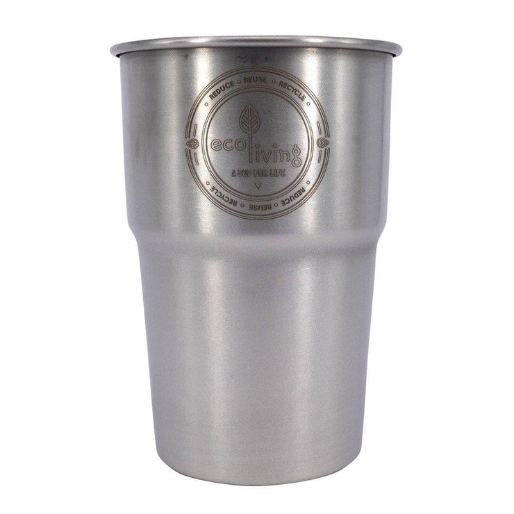 Stainless Steel Pint Cups