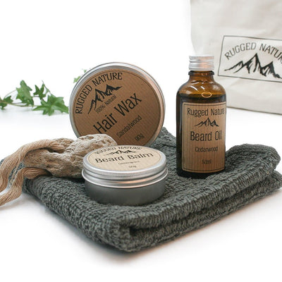 Rugged nature gift set for men