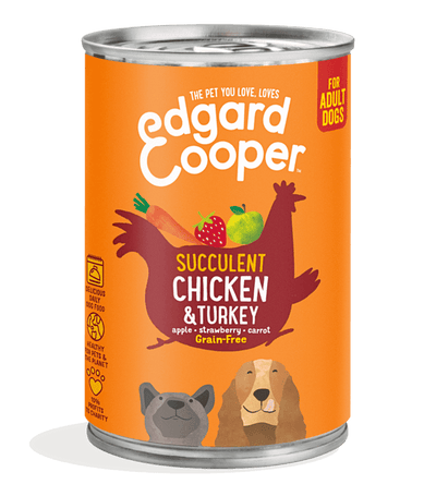 Grain-Free Wet Dog Food Chicken & Turkey