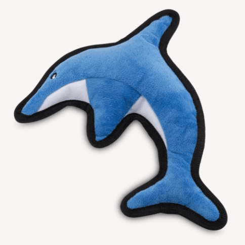 Rough & Tough Dog Toy - Dolphin