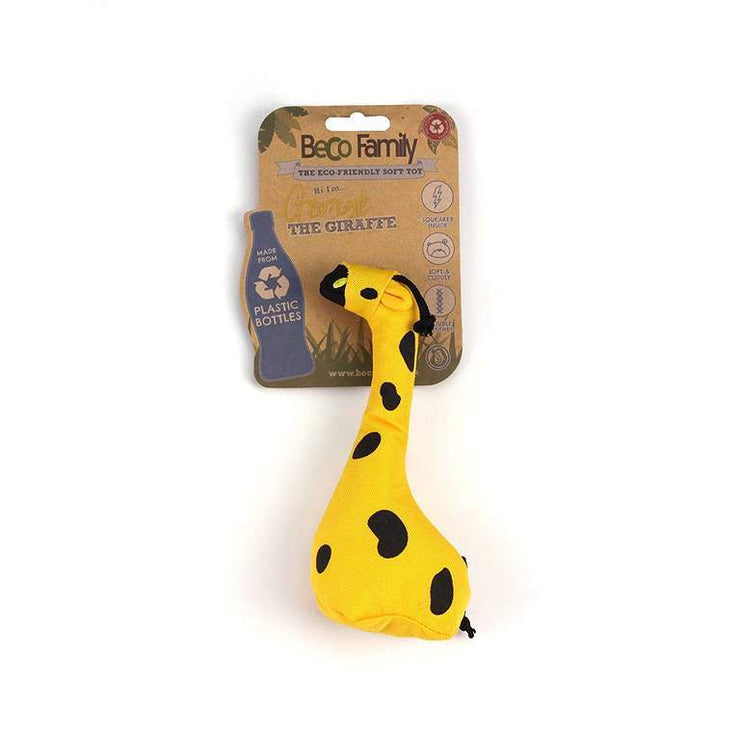 Beco Soft Dog Toy - George Giraffe