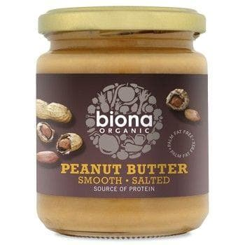 Organic Peanut Butter Smooth Salted - 250g