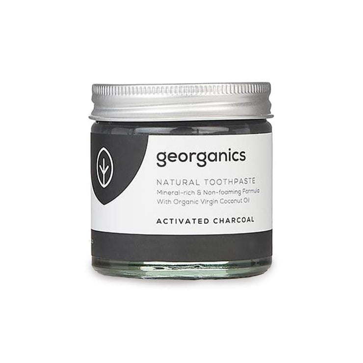 Georganics Natural Toothpaste - Activated Charcoal (120ml)