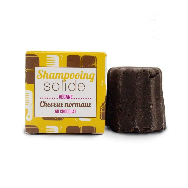 Lamazuna Normal Hair Shampoo Bar - Chocolate (55g)