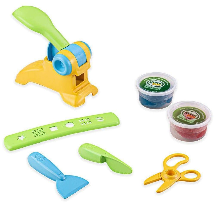 Green Toys Fun Dough Toy Set, recycled plastic.