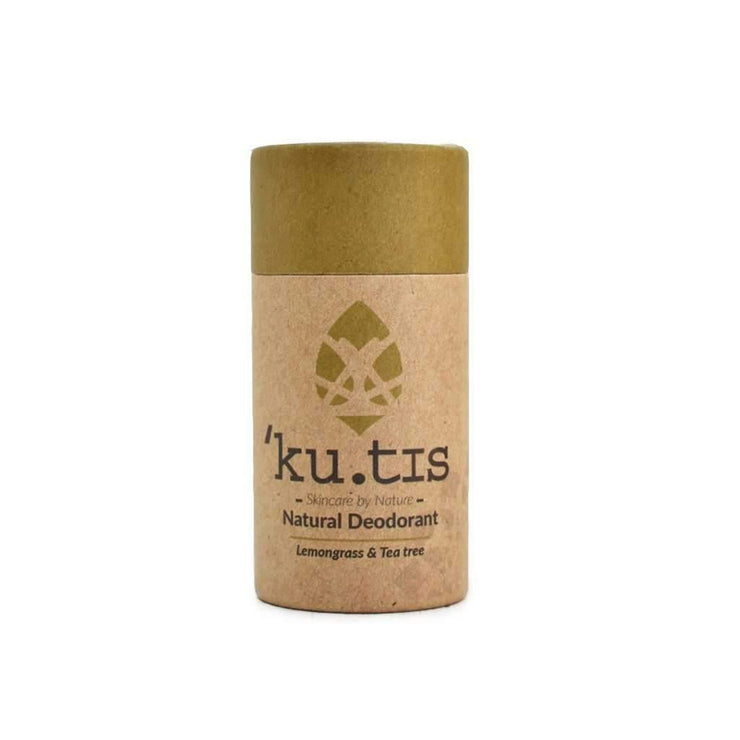 Kutis Natural Deodorant Stick - Lemongrass & Tea Tree (50g)