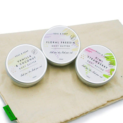 Soul & Soap Luxury Body Butter Gift Set