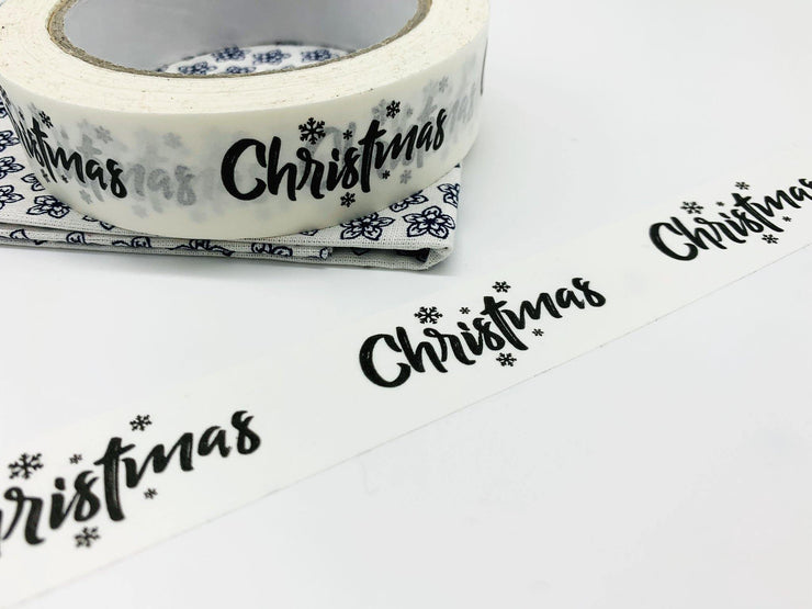 Recyclable Christmas Paper Tape - 66m