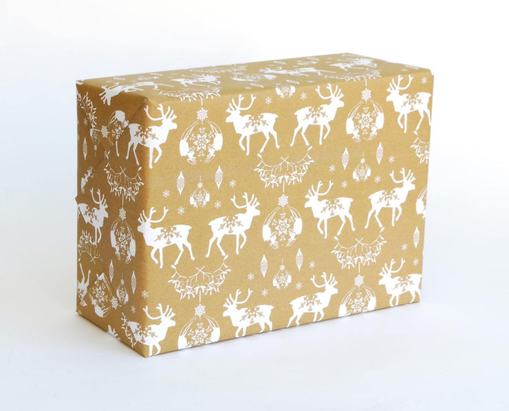 Recyclable Christmas Gift Wrap